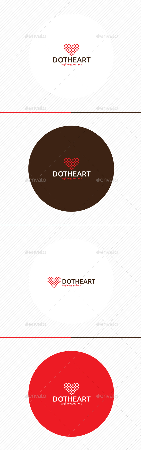 Dot Heart Logo