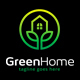 Green Home Residence Logo - GraphicRiver Item for Sale