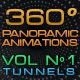 "360º Panoramic Animations Vol 1 - ""Tunnels"" - VideoHive Item for Sale"