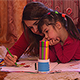 Mom Colors the Pictures with her Daughter - VideoHive Item for Sale