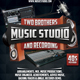Music Studio 3 Flyer/Poster - GraphicRiver Item for Sale