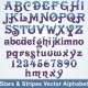 Stars and Stripes Vector Alphabet - GraphicRiver Item for Sale