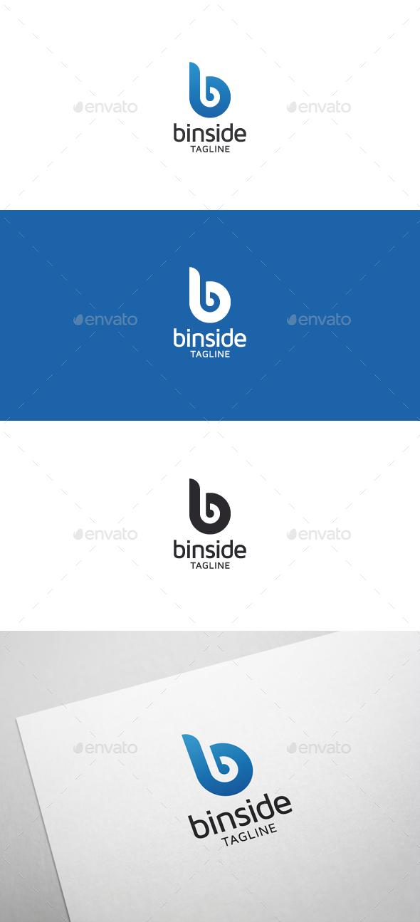 Binside B Letter Logo