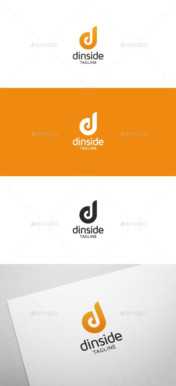 Dinside D Letter Logo