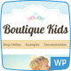 Boutique Kids Creative WordPress Theme - ThemeForest Item for Sale