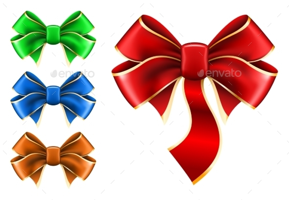 Set Bow in Different Colors