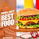 Instagram Food Banner - GraphicRiver Item for Sale