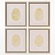 Charlotte Morgan Hand Painted Gold Fingerprints - 3DOcean Item for Sale