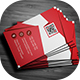 Flat Business Card - GraphicRiver Item for Sale