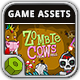 Zombie Cows Game Assets - GraphicRiver Item for Sale
