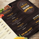 Woody Food Menu - GraphicRiver Item for Sale