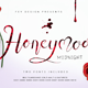 Honey Moon Midnight Two Fonts - GraphicRiver Item for Sale