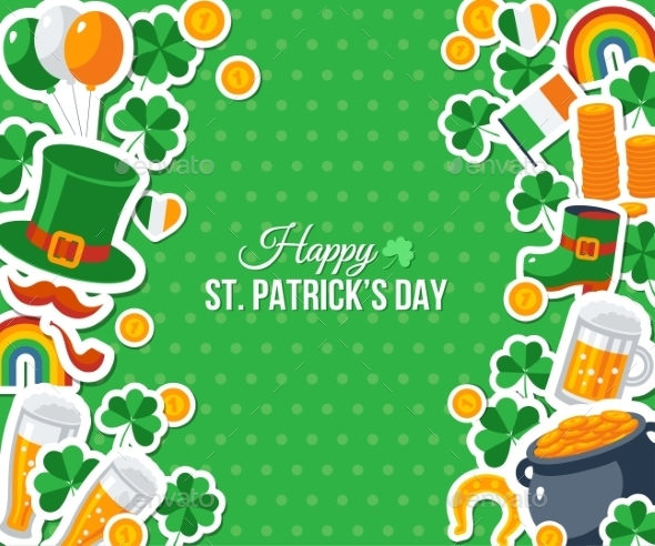 Patricks Day Greeting Card