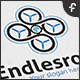 Endless Drone Logo - GraphicRiver Item for Sale