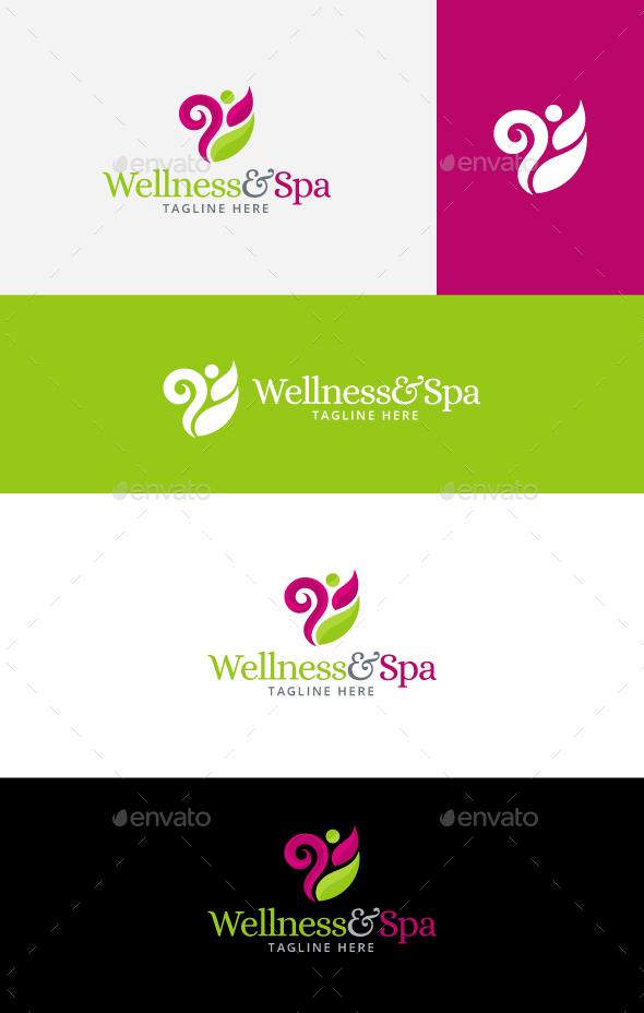 Wellness Logo Graphics, Designs & Templates from GraphicRiver