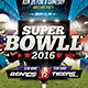 Super Ball - American Football Flyer - GraphicRiver Item for Sale