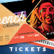 Event Tickets Template XVII - GraphicRiver Item for Sale