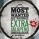 Sauce Jar Label Templates - Western - GraphicRiver Item for Sale
