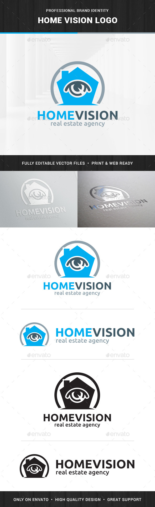 Home Vision Logo Template