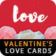Valentine's Day Love Cards Pack II - GraphicRiver Item for Sale