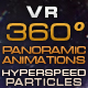 "VR 360 Panoramic Animations ""Hyperspeed Particles"" - VideoHive Item for Sale"
