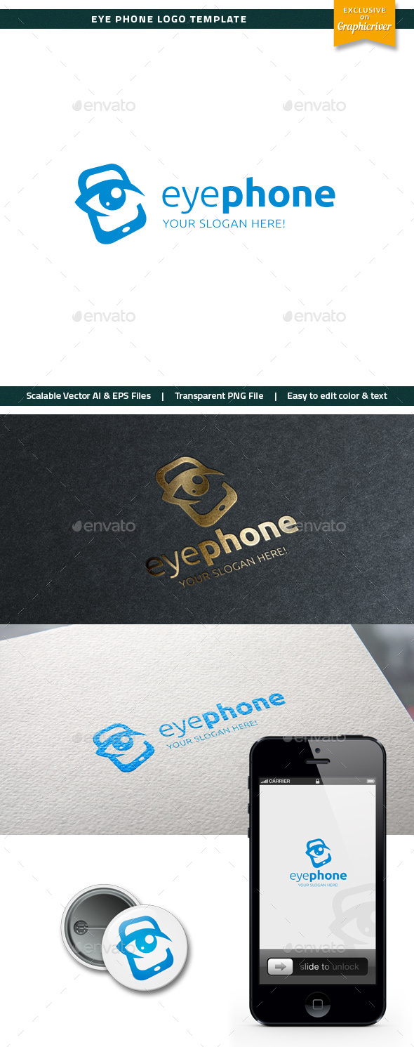 Eye Phone Logo