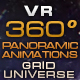 "VR 360 Panoramic Animations ""Grid Universe"" - VideoHive Item for Sale"