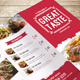 Clean Food Menu 02 - GraphicRiver Item for Sale