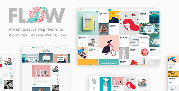 Flow – Creative Blog Theme