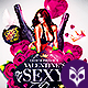 Valentines Sexy Party Flyer - GraphicRiver Item for Sale