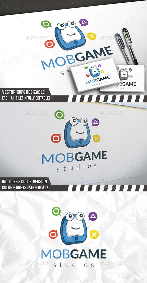 Phone Gaming Logo