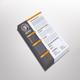 Dunlea Resume Template Design - GraphicRiver Item for Sale