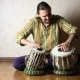 Man Playing On Indian Tabla Drums  - VideoHive Item for Sale