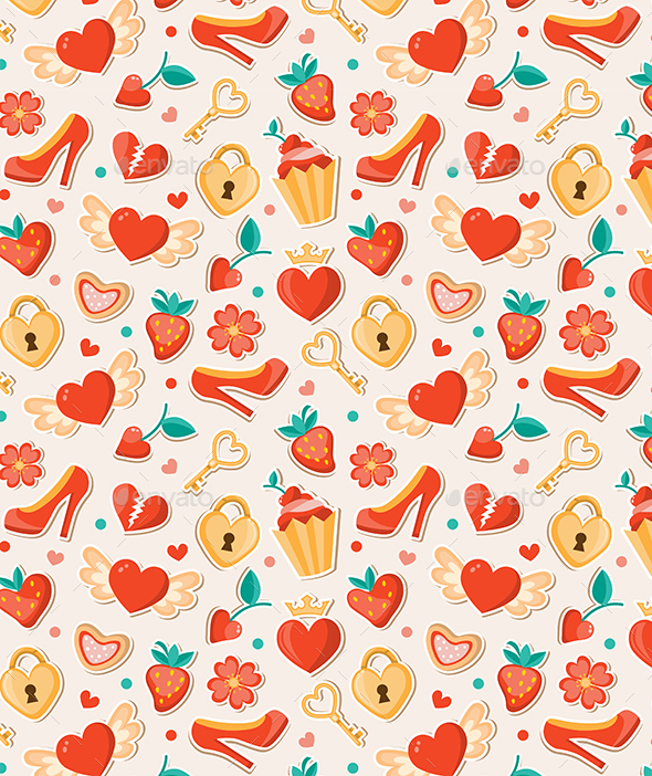 Romantic Valentine Pattern