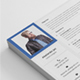 Flat Resume  - GraphicRiver Item for Sale
