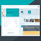 Free Box Delivery Interface Template - GraphicRiver Item for Sale