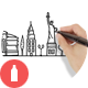 60 Hand Drawn Cities & Backgrounds - GraphicRiver Item for Sale