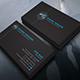 Black Business Card - GraphicRiver Item for Sale