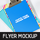 Realistic Flyer Mockup v.2 - GraphicRiver Item for Sale