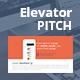 Elevator Pitch Powerpoint Presentation Bundle - GraphicRiver Item for Sale