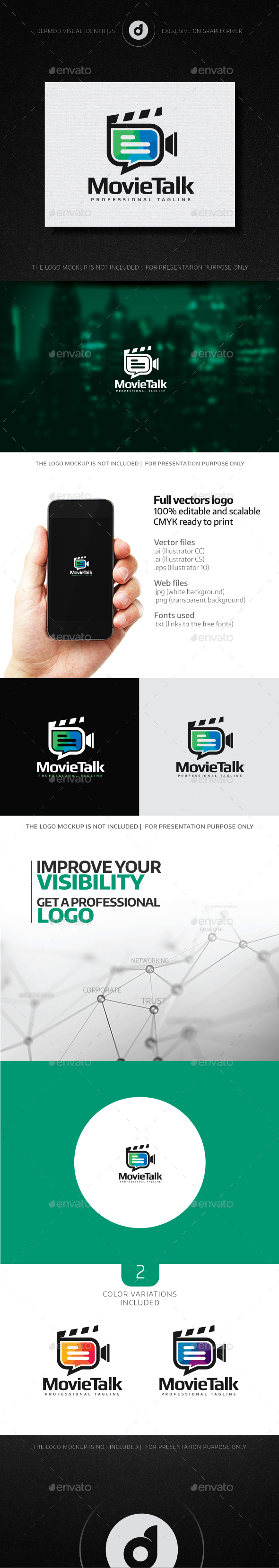 MovieTalk Logo