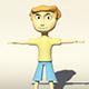 Man Sport 3D Model - 3DOcean Item for Sale