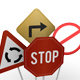 Road Signs and Traffic - 3DOcean Item for Sale