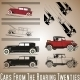 Cars from the Roaring Twenties - GraphicRiver Item for Sale
