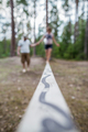 Learning to walk on a tightrope, and keep the balance. - PhotoDune Item for Sale