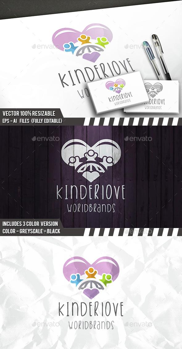 Kids Love Logo