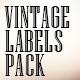 Vintage Labels Pack - VideoHive Item for Sale