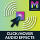 Click/Hover Audio Effects Widget by Muse For You - CodeCanyon Item for Sale
