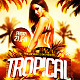 Tropical Latin Party Flyer Template - GraphicRiver Item for Sale
