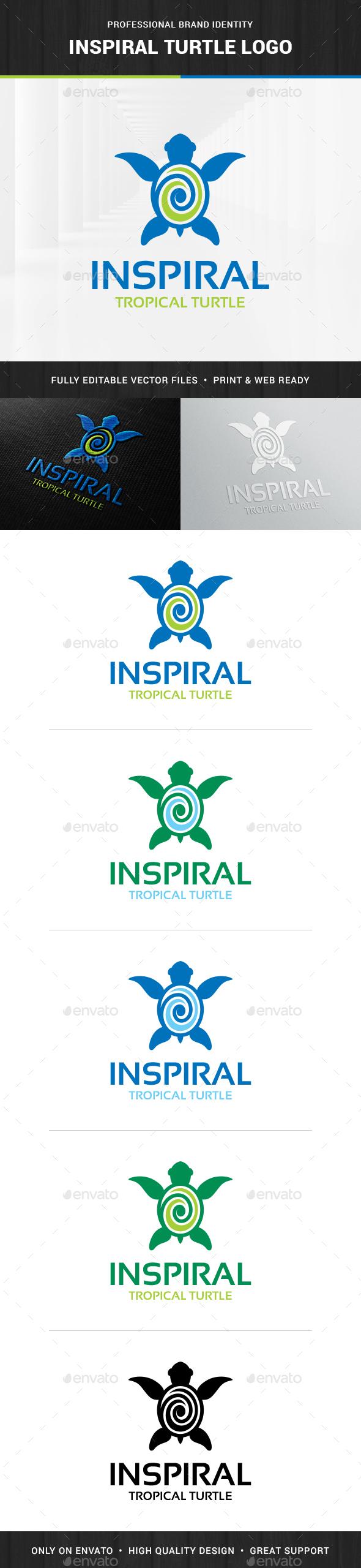 Inspiral - Turtle Logo Template